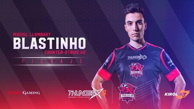 Blastinho abandona su retiro para fichar por ThunderX3 Baskonia