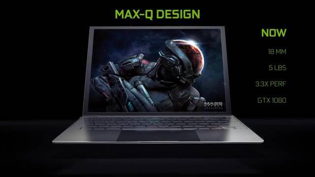 NVIDIA Max-Q, la tecnología que puede revolucionar los portátiles gaming