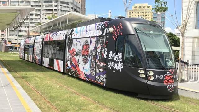 Personalizan todo un tren con motivos de League of Legends para celebrar el Rift Rivals en Taiwan