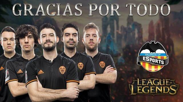 El Valencia dice adiós a todo su equipo de League of Legends