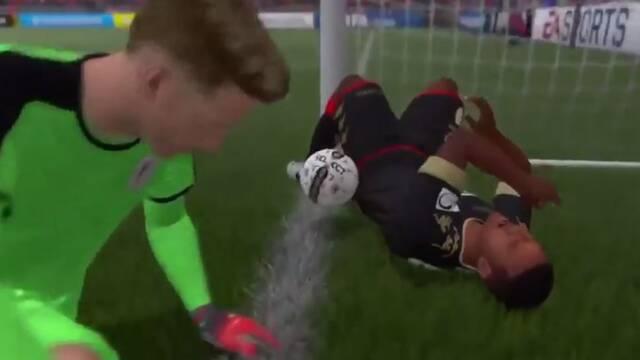 El 'no gol' de FIFA 17 que se ha vuelto viral y está dando la vuelta al mundo