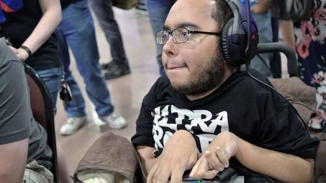 Wheels, el luchador profesional de Killer Instinct que lucha a diario contra una enfermedad neuronal