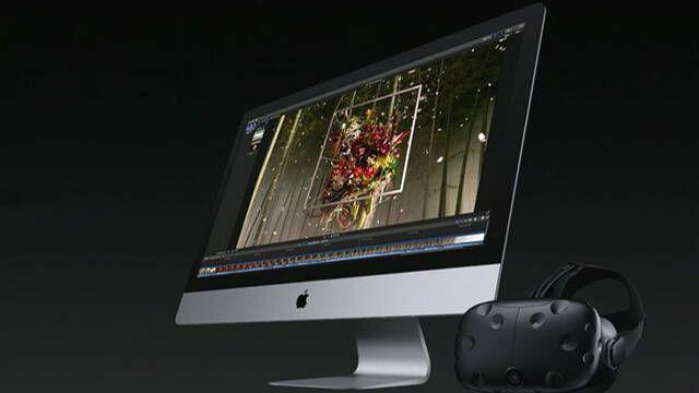 Los equipos de Apple serán compatibles con la realidad virtual de Valve