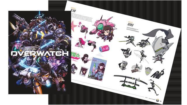 Primeras imágenes del libro The Art of Overwatch