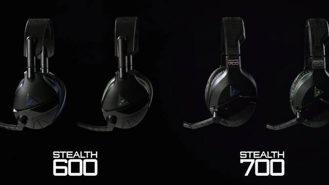 E3 2017: Turtle Beach presenta sus nuevos cascos Stealth 700 y Stealth 600
