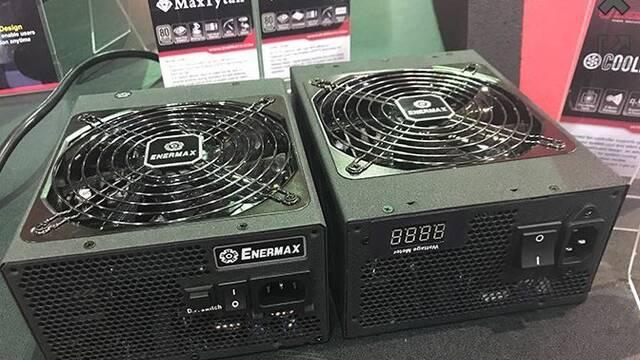 Enermax muestra MaxTytan Series, fuentes de alimentación con certificación 80 Plus Titanium y medidor de potencia