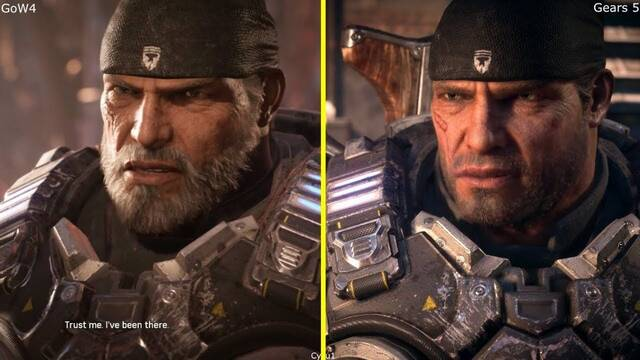 Comparativa gráfica: Gears of War 4 VS. Gears 5 en el E3 2018