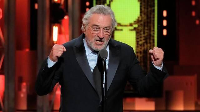 Robert de Niro arremete contra Donald Trump en los premios Tony