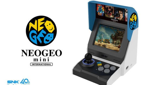 Neo Geo Mini saldrá a la venta en verano en Japón
