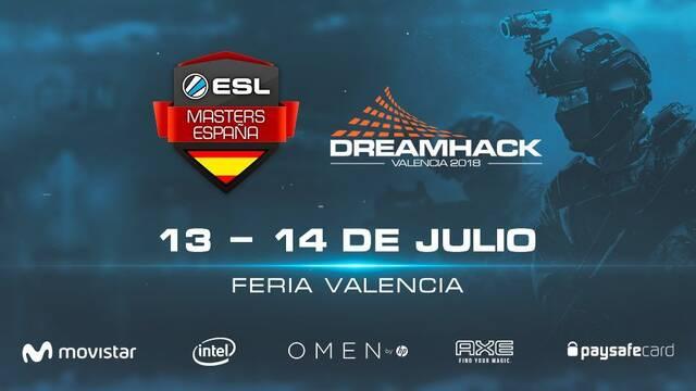 ESL Masters CS:GO celebrará sus finales en DreamHack Valencia 2018
