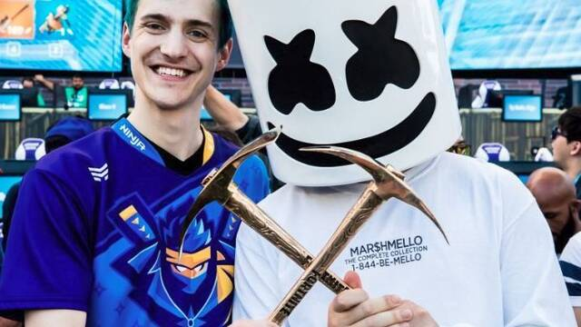 E3 2018: Ninja y Marshmello ganan el Fortnite Pro-AM