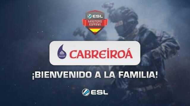 """ESL """"ficha"""" a Cabreiroá como nuevo patrocinador"""