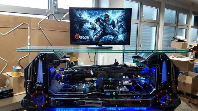 El PC Modding de los viernes: Un Lancer de Gears of War para jugar