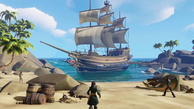 AMD lanza sus últimos drivers para corregir errores en Sea of Thieves
