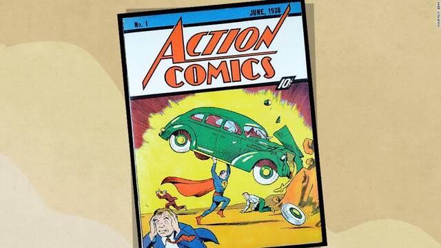 La primera aparición de Superman se vende por 2 millones de dólares