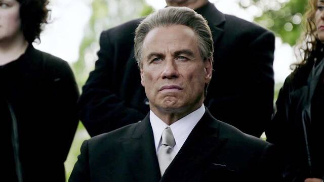 'Gotti', lo nuevo de John Travolta, tiene un 0 en Rotten Tomatoes