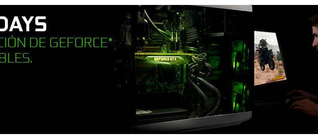 GeForce Days: NVIDIA pone sus gráficas GeForce GTX Serie 10 de oferta