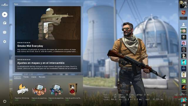 Cómo instalar y probar la beta de Panorama, la nueva interfaz de CS:GO