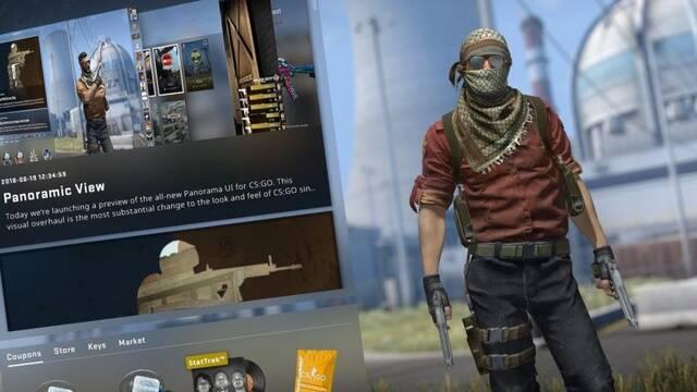 Vídeo: Así es Panorama, la nueva interfaz de CS:GO