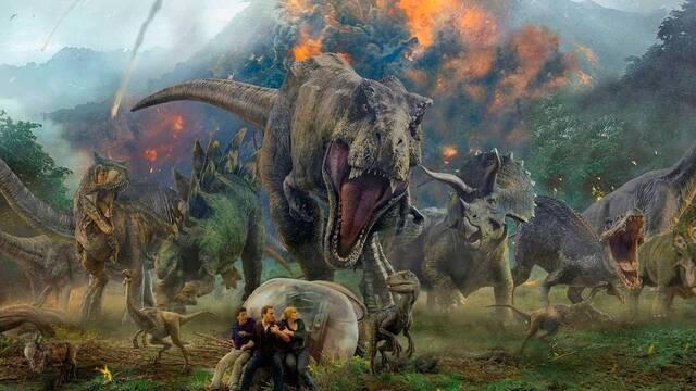 'Jurassic World: El reino caído' obtiene un 55% en Rotten Tomatoes