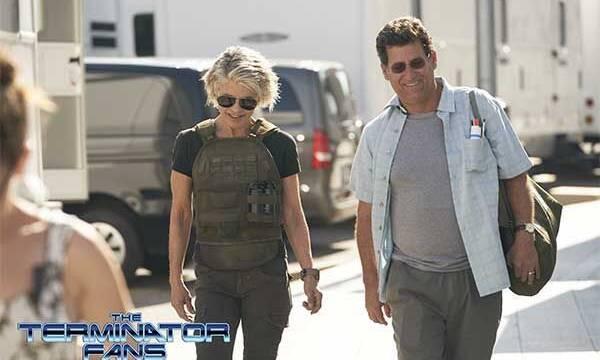 Primeras imágenes de Linda Hamilton en el rodaje de Terminator 6