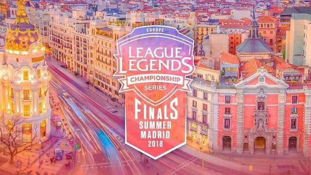 Las entradas para las finales de la LCS EU 2018 en Madrid se venderán el 28 de junio