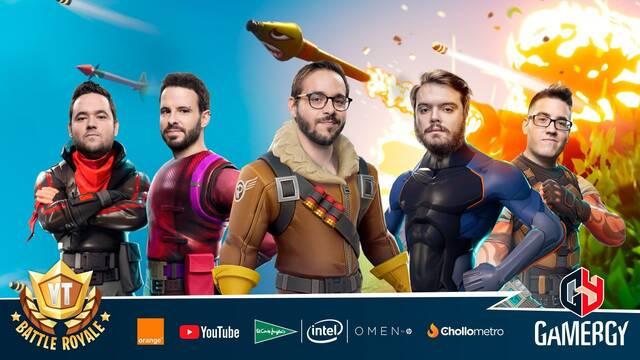 Gamergy: Sigue en directo el YT Battle Royale