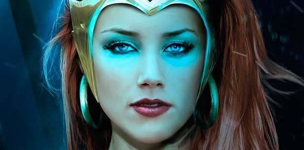 'Aquaman': Amber Heard indica que Mera 'no hace simplemente burbujas'