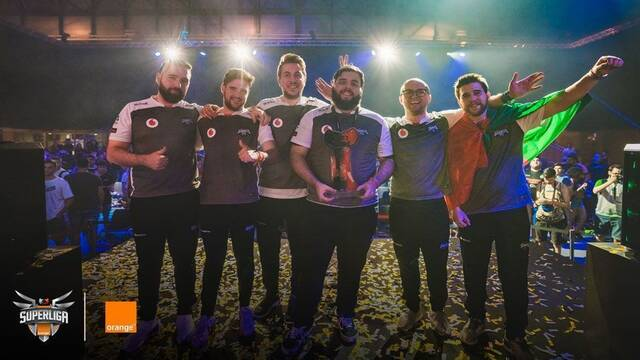 Gamergy: Vodafone Giants vence en las finales de Clash Royale y CS:GO