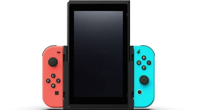 Flip Grip, un accesorio para jugar a Nintendo Switch en vertical
