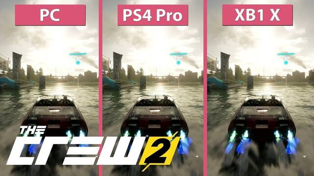 Comparativa gráfica: The Crew 2 en PC, PS4 Pro y Xbox One X (en beta)