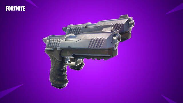 Fortnite llega a su versión 4.5 añadiendo el Patio de Juegos y las pistolas dobles