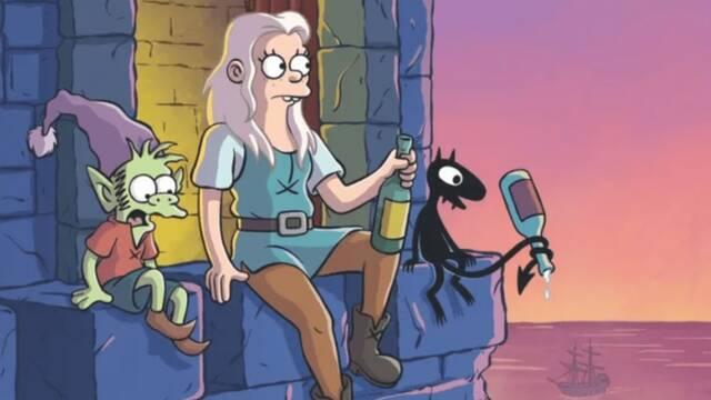 Primer avance de la serie de Netflix y Matt Groening — Disenchatment