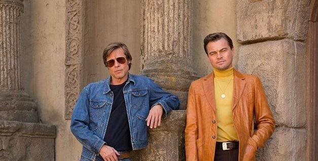 Primera imagen de DiCaprio y Pitt en 'Once Upon a Time in Hollywood'
