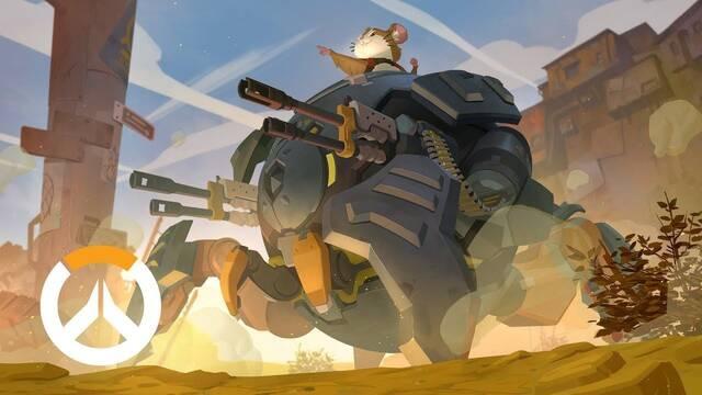 Wrecking Ball, el hámster que se ha convertido en el nuevo héroe de Overwatch