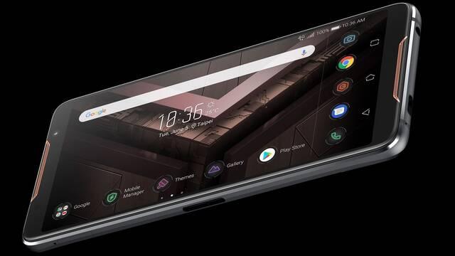 Asus presenta ROG Phone, el móvil para gamers con pantalla OLED de 90Hz