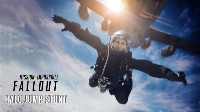 Tom Cruise realizó un impresionante salto en paracaídas en 'MI: Fallout'