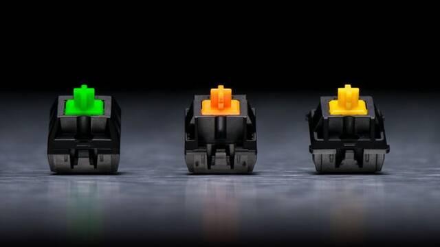 Razer prestará sus interruptores para teclados y su iluminación a otras marcas