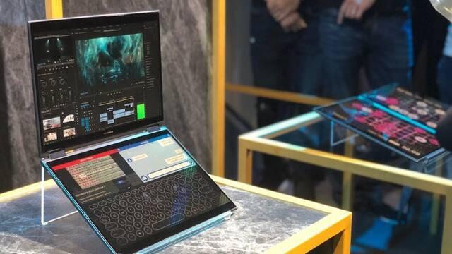 ASUS anuncia Project Precog, un portátil con dos pantallas táctiles