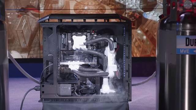 EVGA presenta un sistema de refrigeración automática con nitrógeno líquido