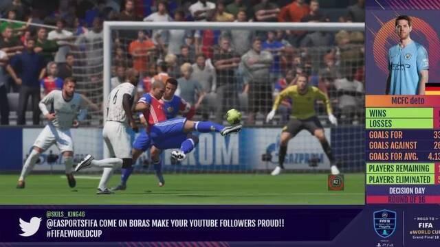 Un gol de tijera del Ronaldo Nazario virtual de FIFA 18 se hace viral