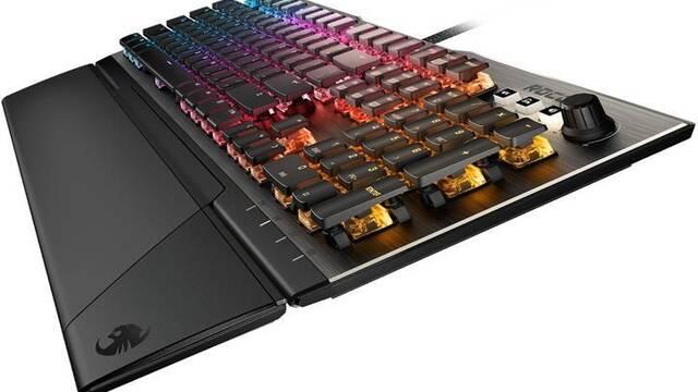 El nuevo teclado ROCCAT Vulcan destaca por su atractivo diseño
