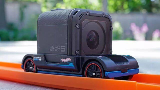 GoPro y Hot Wheels crean un coche de juguete con soporte para la cámara