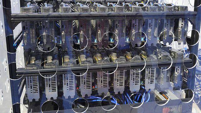 Asus presenta una placa base para minar criptomonedas con 20 gráficas