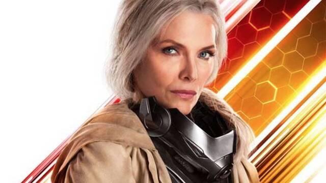 Revelado el traje de Michelle Pfeiffer en Ant-Man y la Avispa