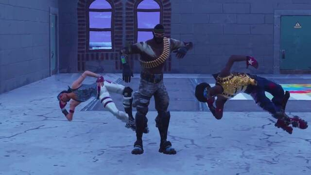 Recrean el videoclip de This is America en Fortnite