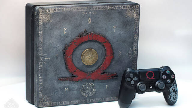 El modding de los viernes: La PS4 más espectacular de God of War