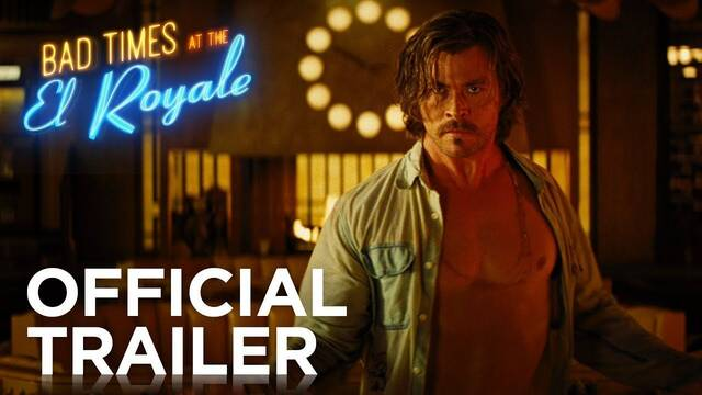 Chris Hemsworth reserva noche en el violento 'Bad Times at the El Royale'