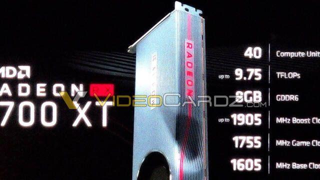 Rumor E3 2019: Se filtra la gráfica AMD Radeon RX 5700 XT