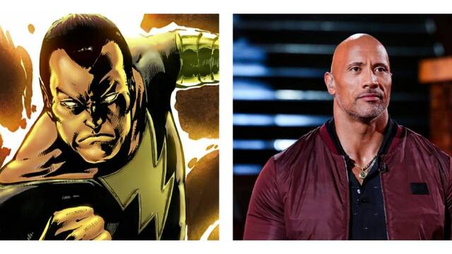 La película de Black Adam de Dwayne Johnson encuentra director